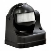 Датчик движения инфракрасный ДД-009-B 1200Вт 180 градусов12м IP44 черный LLT купить по цене 403 руб.